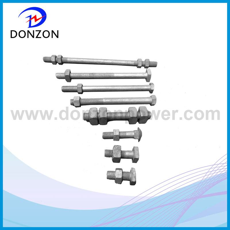 Carrige / Square / Hex Galvanized Stell Bolt