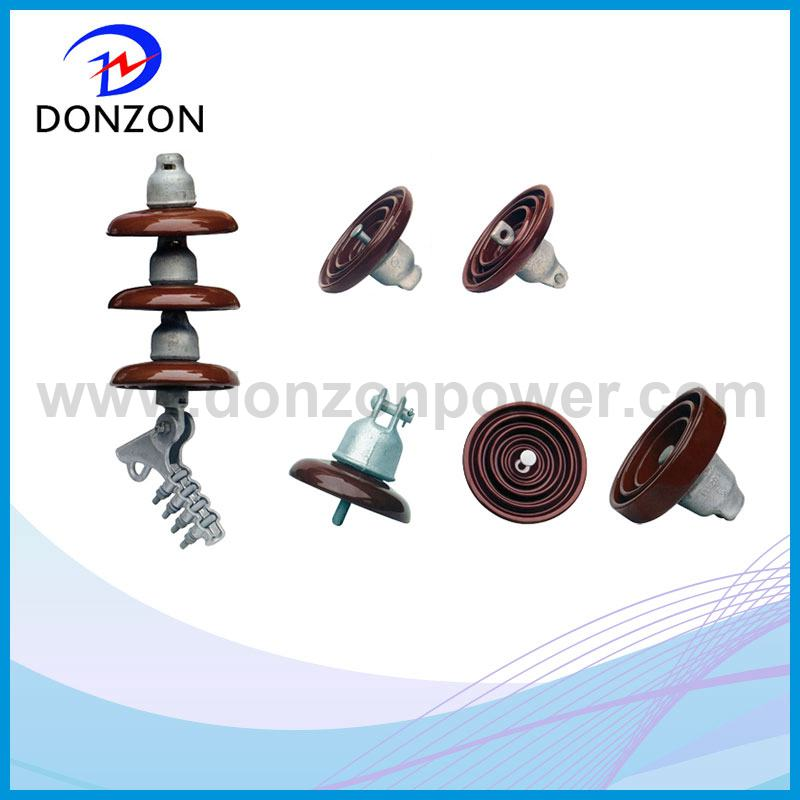 Hot Sale Brown Color Disc Ceramic Isolator