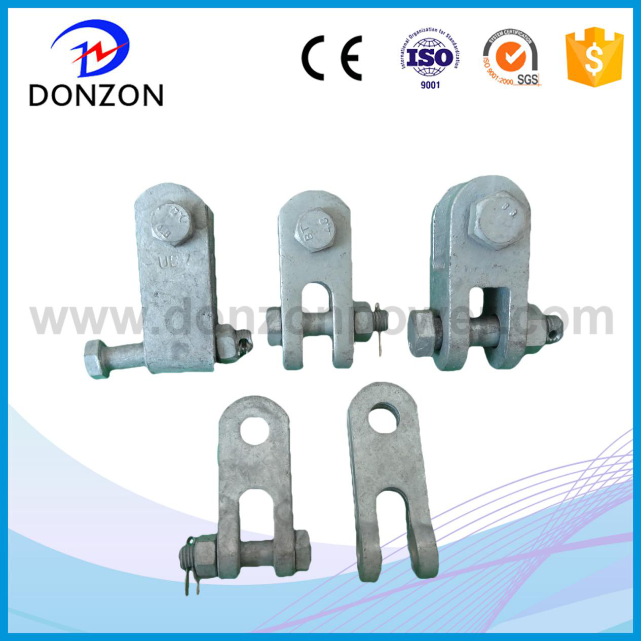 Transmission power fittings