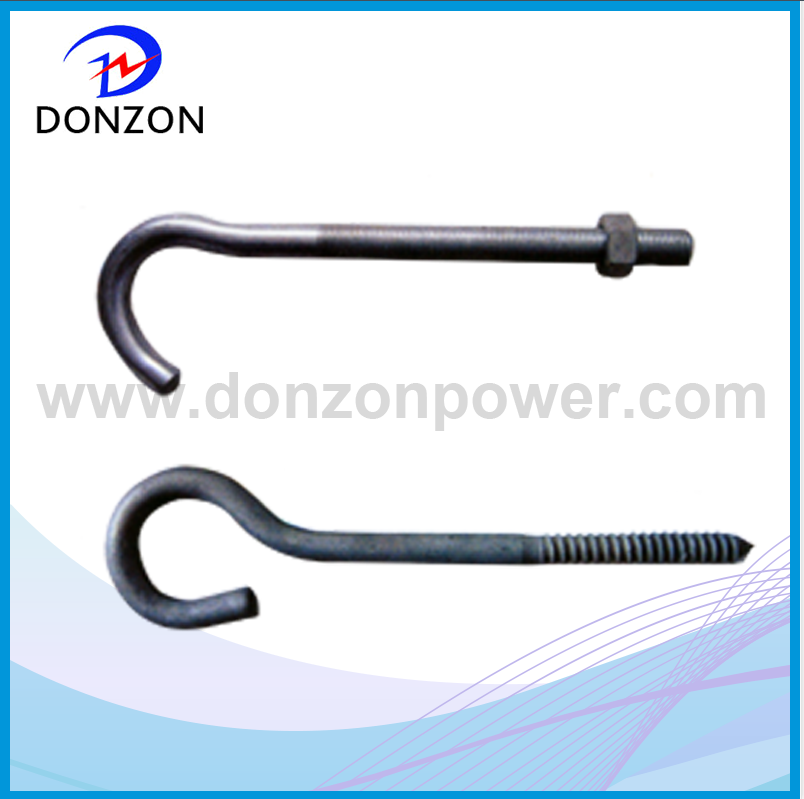 Pig tail hook
